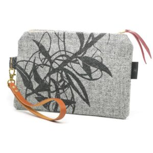 Light Grey Clutch Bag