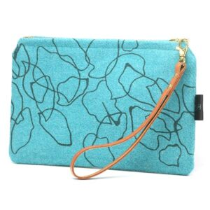 Teal Clutch Bag