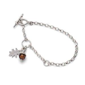Emma Lavery Acorn Bracelet