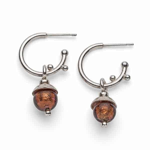 Emma Lavery Acorn Earrings