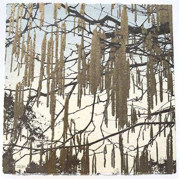 Anna Harley Catkins unframed mini print