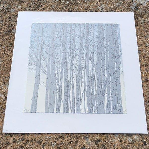 Anna Harley Silver Birch unframed mini print2