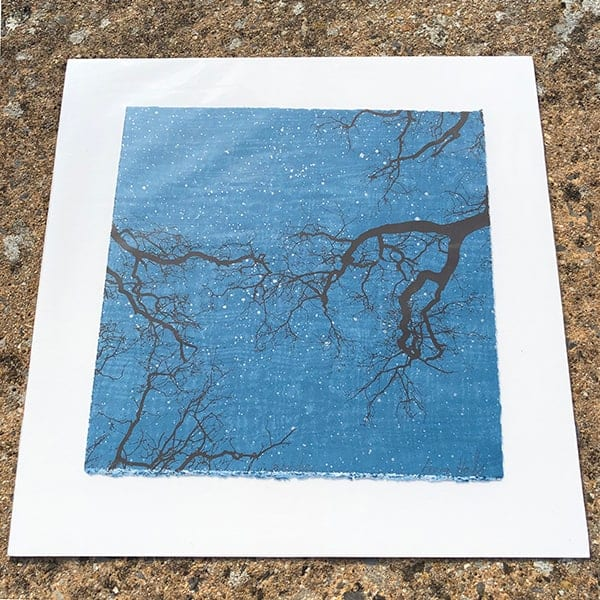 Anna Harley Winter unframed mini print2