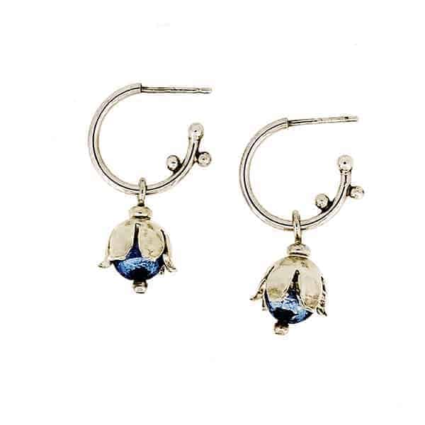 Emma Lavery Bluebell Earrings 2