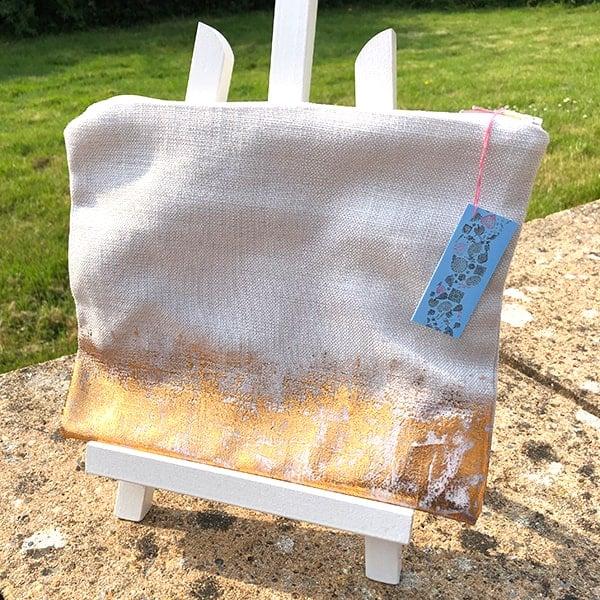 Clare Walsh Gold Foil Bag