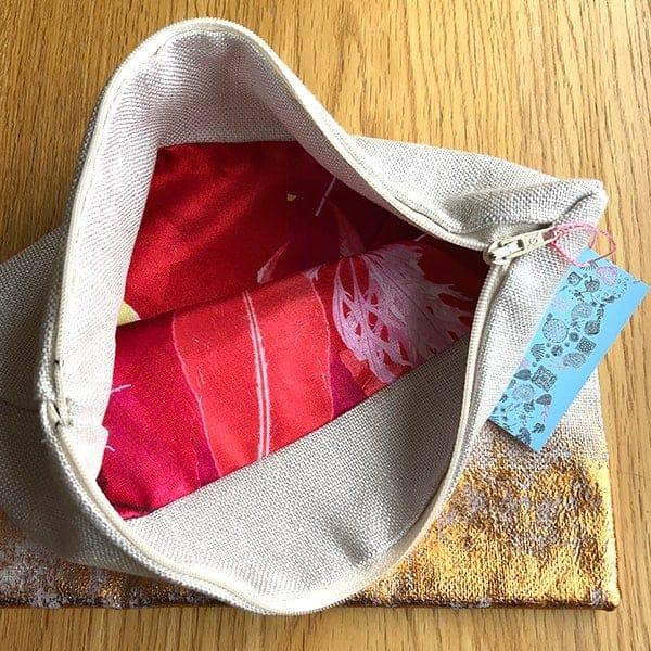 Clare Walsh Gold Foil Bag2