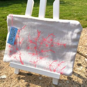Clare Walsh Pink Blossom Bag