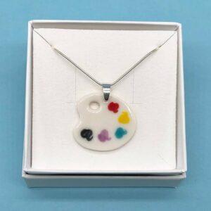 Small palette pendant