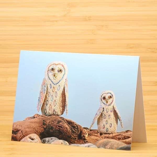 2 Owls card