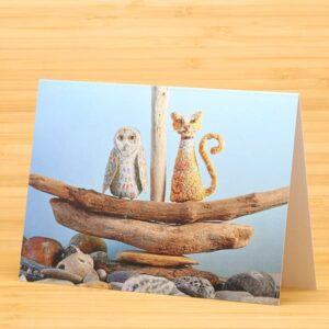 Owl & Pussycat card