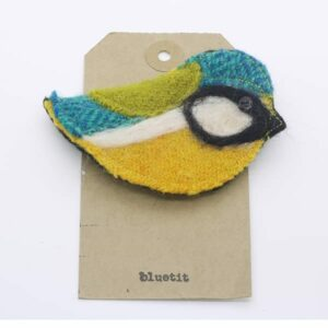 Katfish Bluetit Brooch