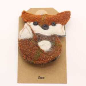 Katfish Fox Brooch