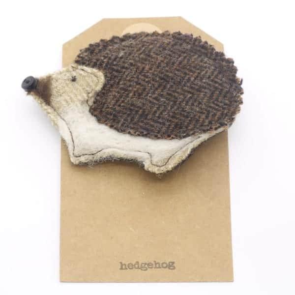 Katfish Hedgehog Brooch