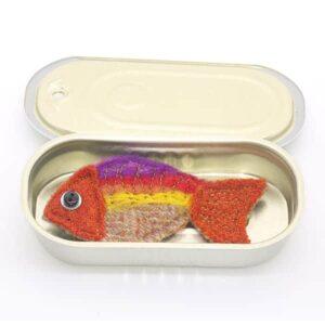 Katfish Goldfish Brooch