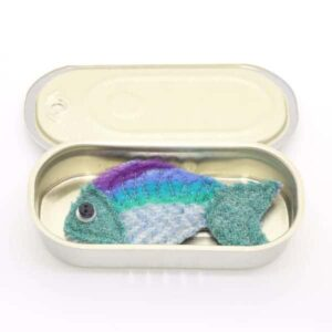 Katfish Sardine Brooch