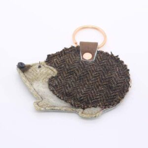 Katfish Hedgehog Keyring