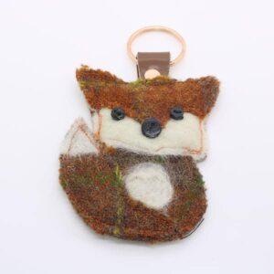 Katfish Fox Keyring