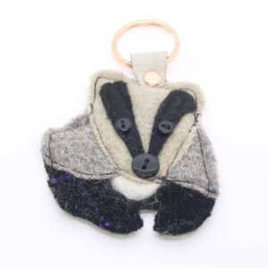 Katfish Badger Keyring