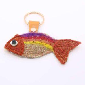 Katfish Goldfish Keyring