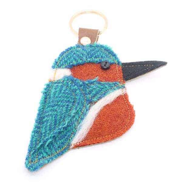 Katfish Kingfisher Keyring