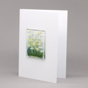Glass Daisy card