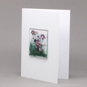 Glass Violet card