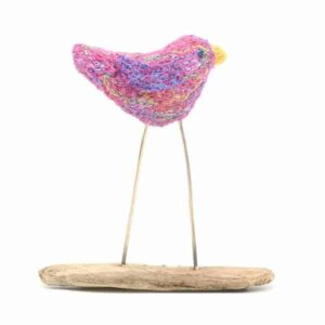 Small Purple Bird