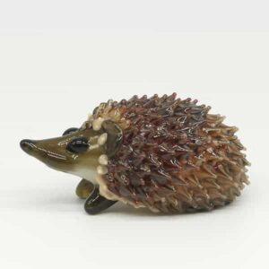 Glass Hedgehog Sculpture