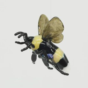 Glass Bee Sculpture