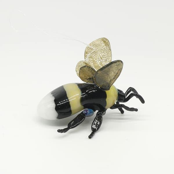 Glass Bee Sculpture