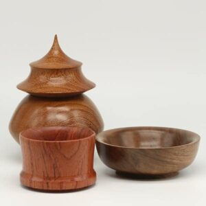 John Saffin - woodturning