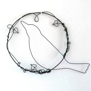 Shiny Star Wire Blackbird