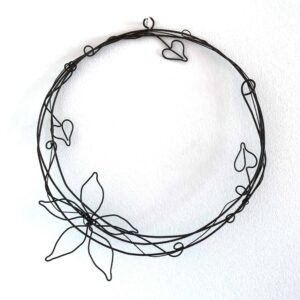 Shiny Star Wire Medium Flower Round