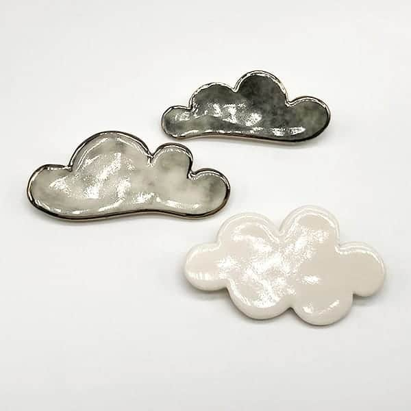 Stormy Weather Brooches