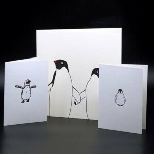 Penguin Ink - print design
