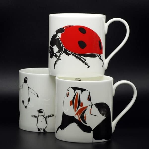 Penguin Ink mugs