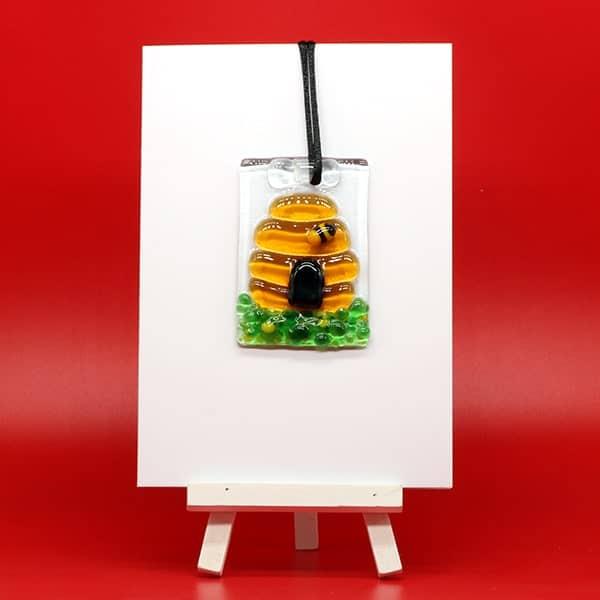Bee Happy - glass